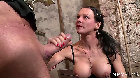 Smutty farmers delight sex with Anna Von Freienwalde and a huge cock to fill her up