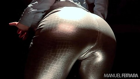 Nice ass in pants with solo evil slut Sheena Shaw