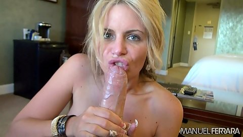 Cock sucking a thick meat with close up whores Eva Karerra