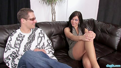 Mandy More thinks too much about this mans cock