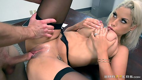 Lucky student gets banged by tasty teacher Bridgette B
