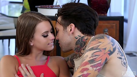 Kissing and making out with Jill Kassidy