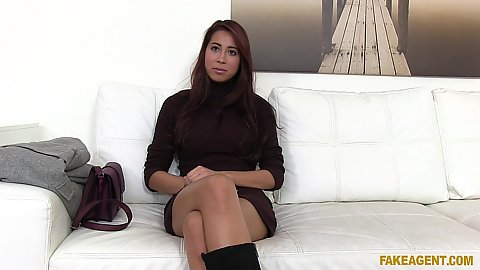 Interview with fully clothed asian model Paula Shy