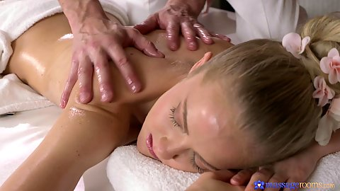 Teasing oil massage for naked girl Sicilia Crane