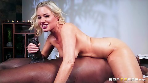 Jessica Ryan is lucky enough to have a huge black cock from nuru guru