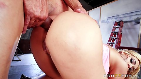 Doggy style latina penetration with hip hop dancing cock Assh Lee