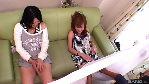 Girls go to a pussy salon Isski Sae and Nozomi and Nami Watanabe with Japanese twist