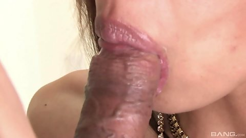 Close up asian model dick blowing and lovely pussy hole fingering