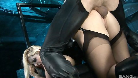 Round butt fetish fuck from behind in the asshole with Carmen Jay