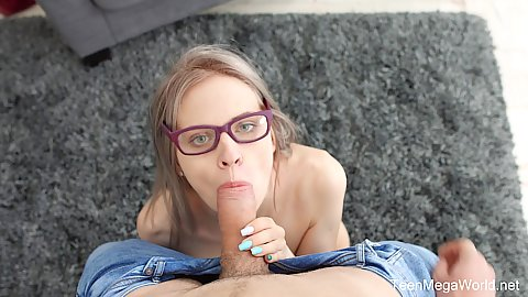 Dick sucking Herda Wisky sucking off a strangers cock she just met on the street