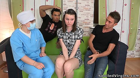 Group sex with interracial big dick tight white pussy ploughin Garcia