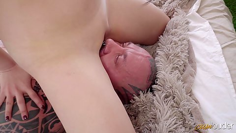 Face sitting sensual loving with college asian flat chested hottie Katana