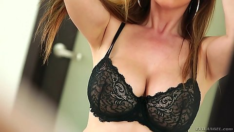 Cleave in the bra with dick sucking asian milf mother Kianna Dior