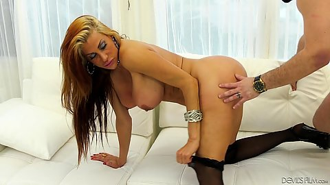 Sheila Marie is a mom and almost a gilf but her curvy body is prime for pumping