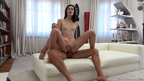 Great cock grinding from audition bewitching lithe little lady Nikki Stills