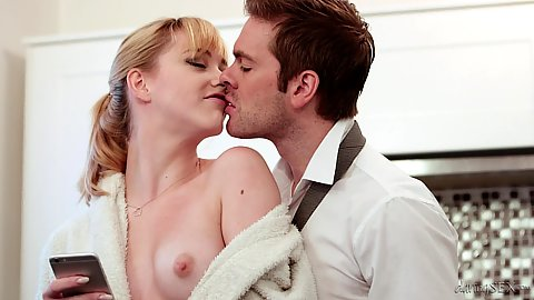 Sensual kissing and romantically perfect get away fuck with Anny Aurora