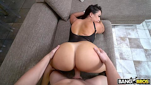 Round meaty latina bootoy fuck with milf Julianna Vega getting screwed through her bodylingerie