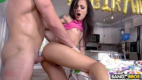 Holly Hendrix is old enough to get some anal fucking done for her bday