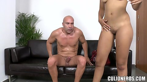 Great body latina with natural chest Sasha Jones wants to get on top of dick and we agree