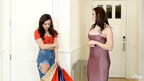 Chanel Preston and Whitney Wright have a shopaholic addiction and that must be rectified by a stepman