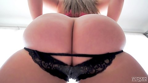 Wow what an ass so round so juicy and it bubbles if you listen to it Maddy OReily