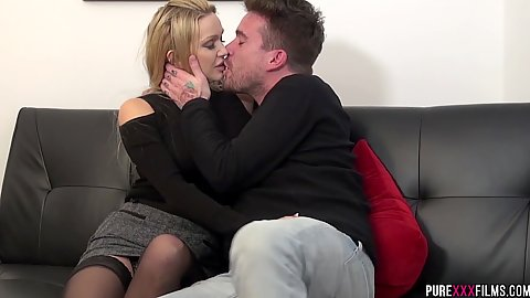 Intimate milf Amber Jayne prefers the feeling of her husbands brothers dick instead so she cheats all the time