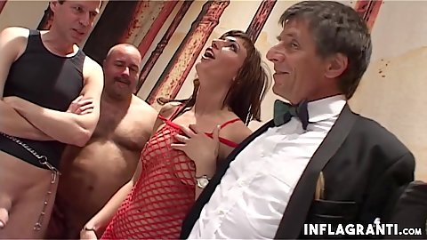 Sidney Love is out party host she will take center stage in this amateur gang bang experience