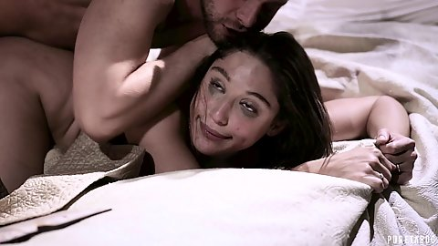 Rough sex very ravaged looking on extreme harsh pumped Abella Danger with deep throat and required facial ejaculation