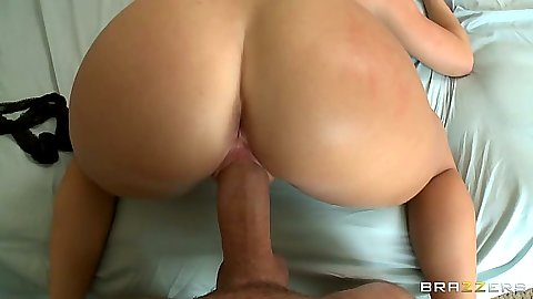 Latina Nikki Delano pov nice round ass doggy style and front fuck