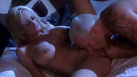 Pussy licking and fingering big tits Stormy Daniels in great sex