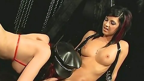 Lady Jade fetish lesbians with natural boobs and eating cunt