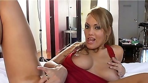 Fingering self latina Vicky Reyes
