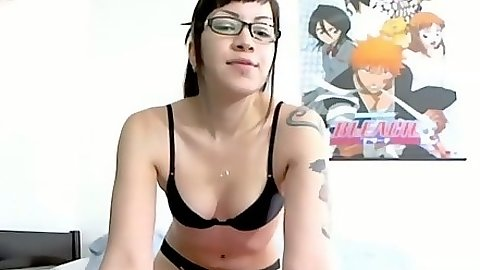 Solo latina with small tits in her bras Jade Rox